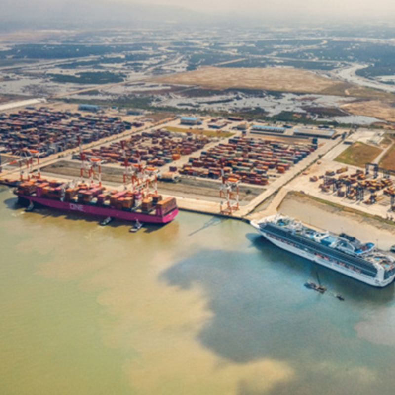 European investors want to invest into a port logistics project of Vietnam