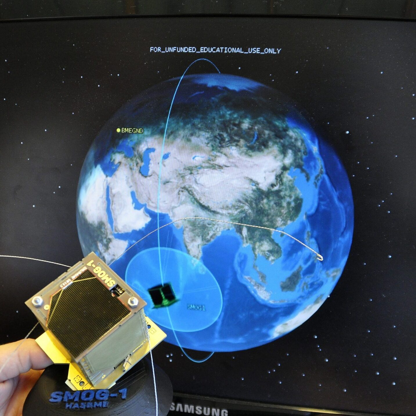 The fourth Hungarian small satellite, SMOG-1 has been launched